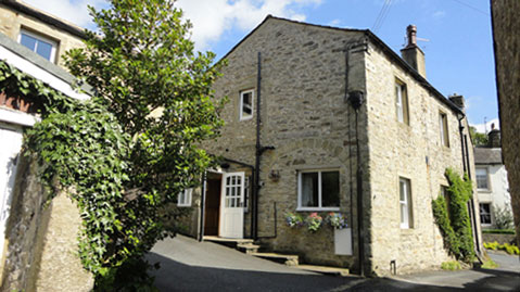 Exterior of Ivy Cottage in Giggleswick